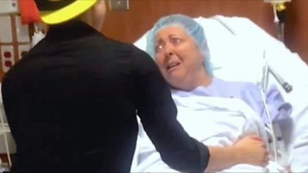 Just As Mom Is About To Go In For Surgery, Son Reveals His Big Secret (Video) Promo Image