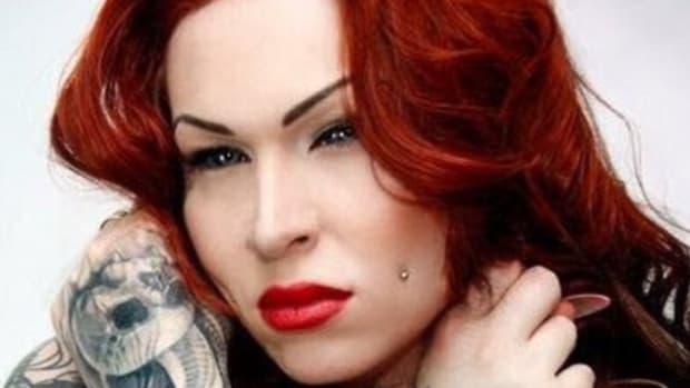 Woman Tattoos Her Eyes Purple (Photos) Promo Image