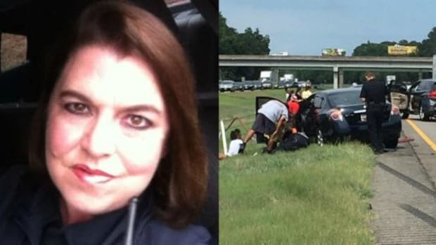 Sergeant Catches Heartwarming Sight After Wreck (Photo) Promo Image