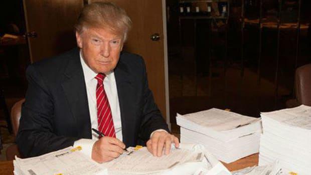 Trump Aide Confirms He Won't Release Taxes, Cites Audit Promo Image