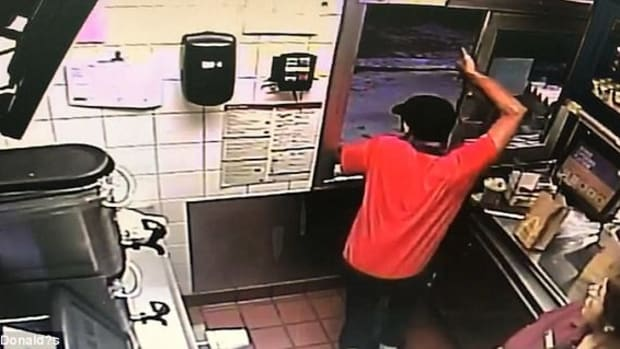 McDonald's Employee Saves Police Officer (Video) Promo Image