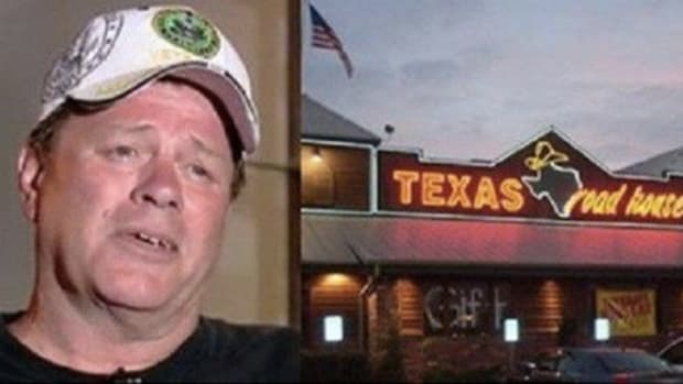 Man Horrified When He Gets Home & Sees What Waitress Did To Him 3 Times After Discovering He's A Veteran Promo Image