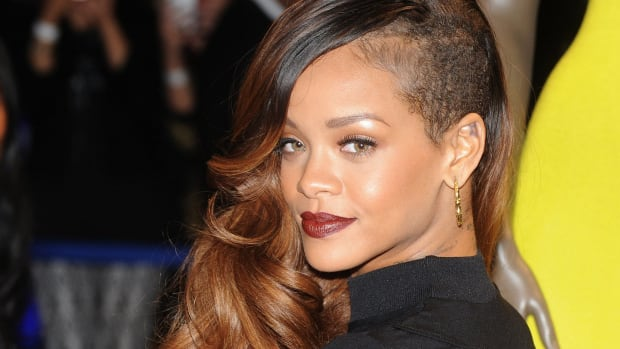 Rihanna Turns Heads With Sheer Top, Sparks Breast Implant Rumors (Photo) Promo Image