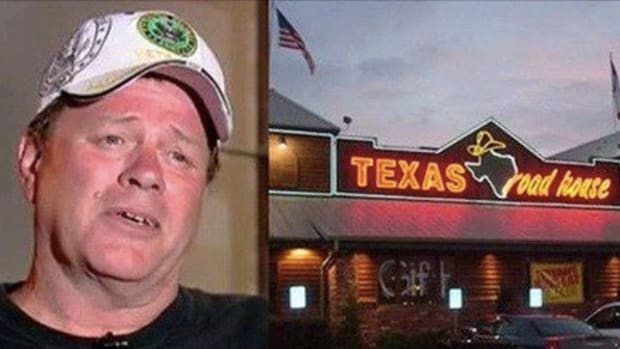Man Disturbed When He Gets Home & Sees What Server Did To Him 3 Times After Realizing He's A Vet Promo Image
