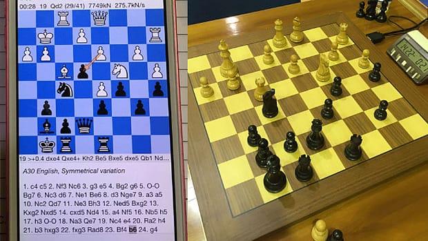 IPhone Chess App.