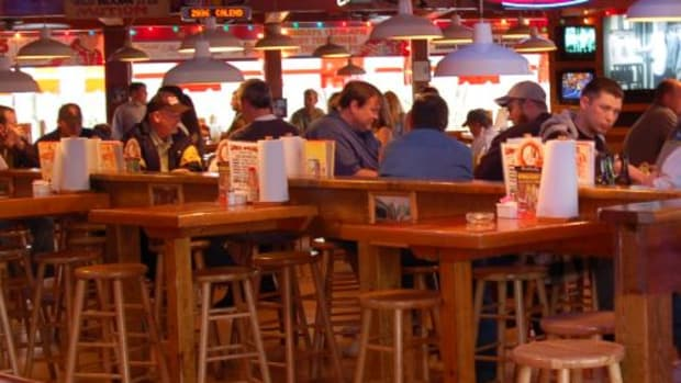 Pub dining.