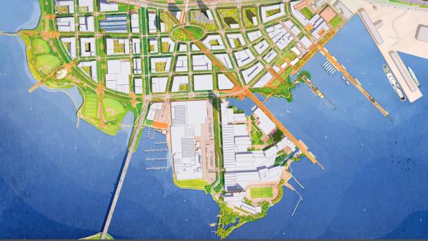 Under Armour Plans Massive New Baltimore Headquarters Promo Image