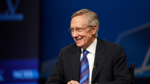 Muslim House Candidate Says Harry Reid Told Him To Quit Promo Image