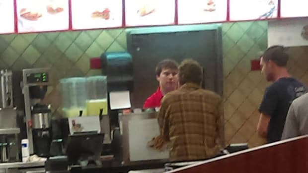Chick-Fil-A Customer Helps Homeless Man Promo Image