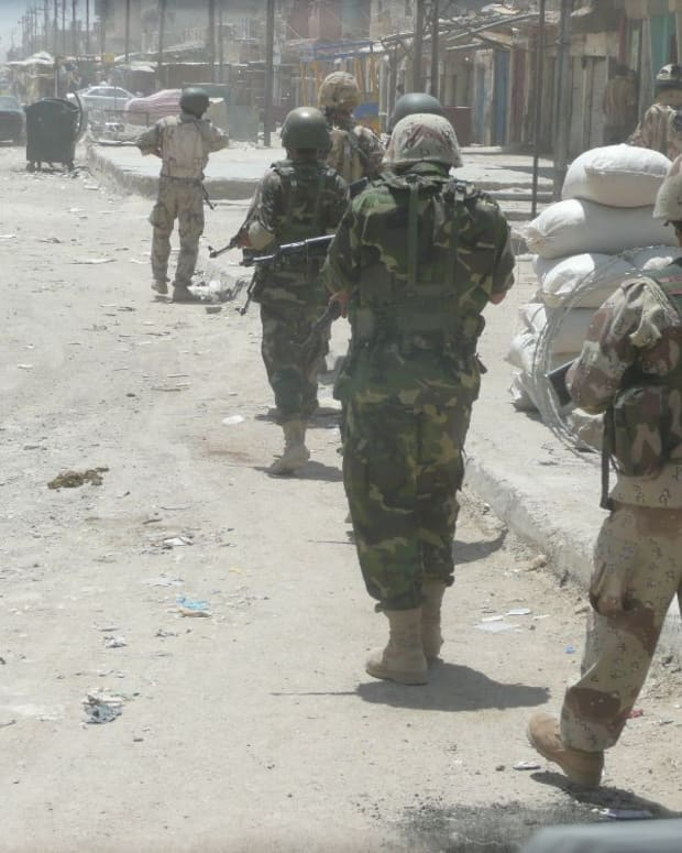 Iraqi Army.