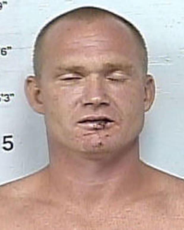 Mitchell Morris arrest photo.