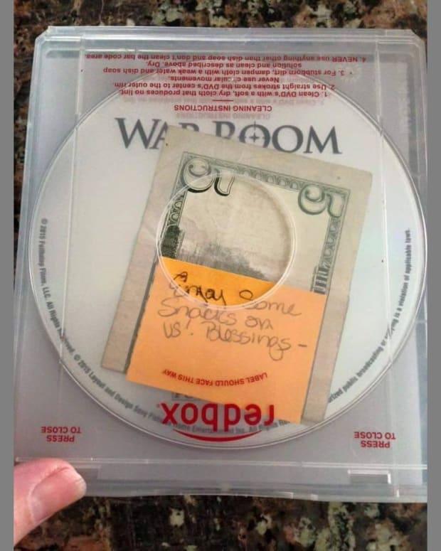 Redbox Movie With Money Inside