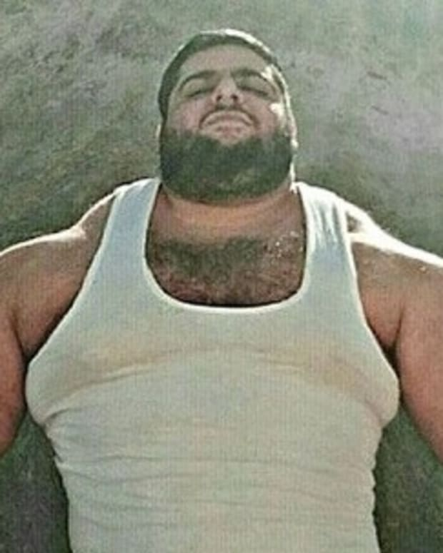 Man Dubbed 'Iranian Hulk' (Photos) Promo Image