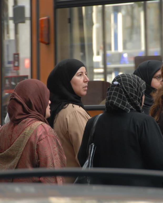 French PM Would Support Headscarf Ban At Universities Promo Image