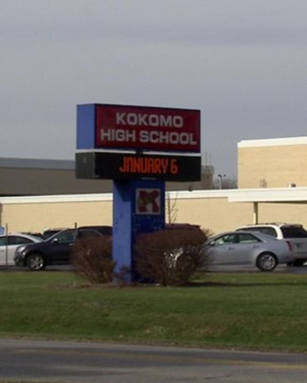 Kokomo High School in Indiana