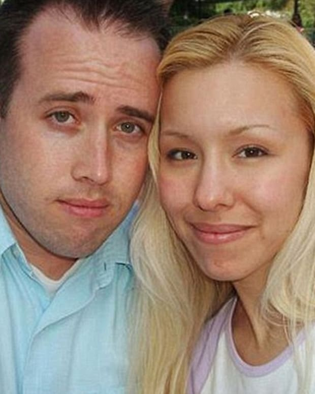 Travis Alexander and Jodie Arias.