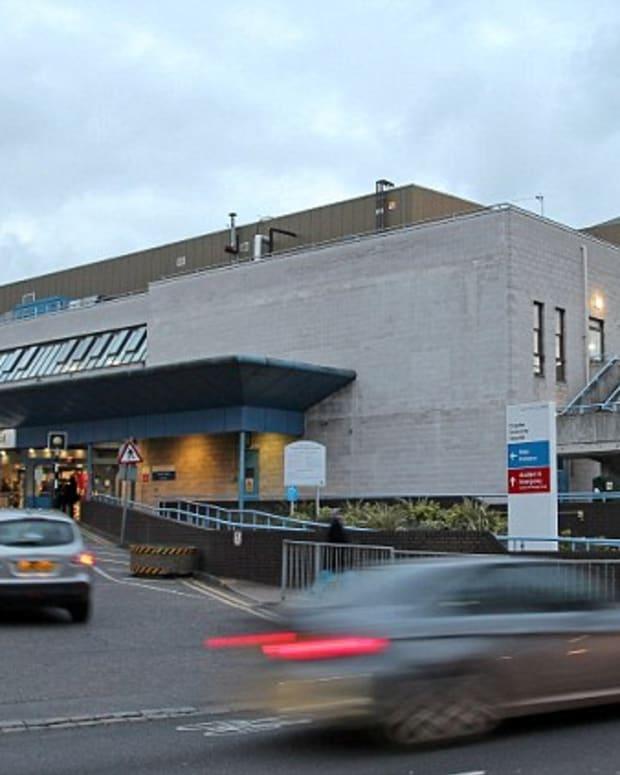Croydon Hospital.