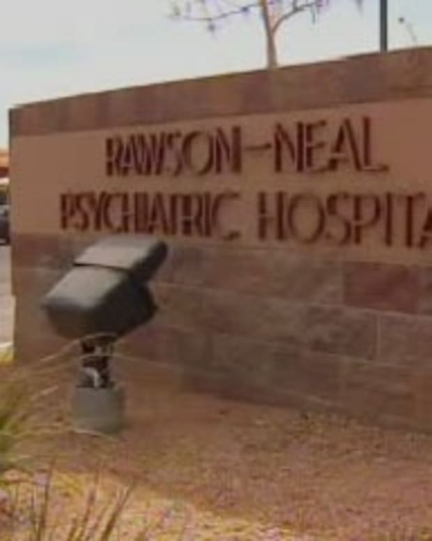 Rawson-Neal Psychiatric Hospital In Las Vegas.