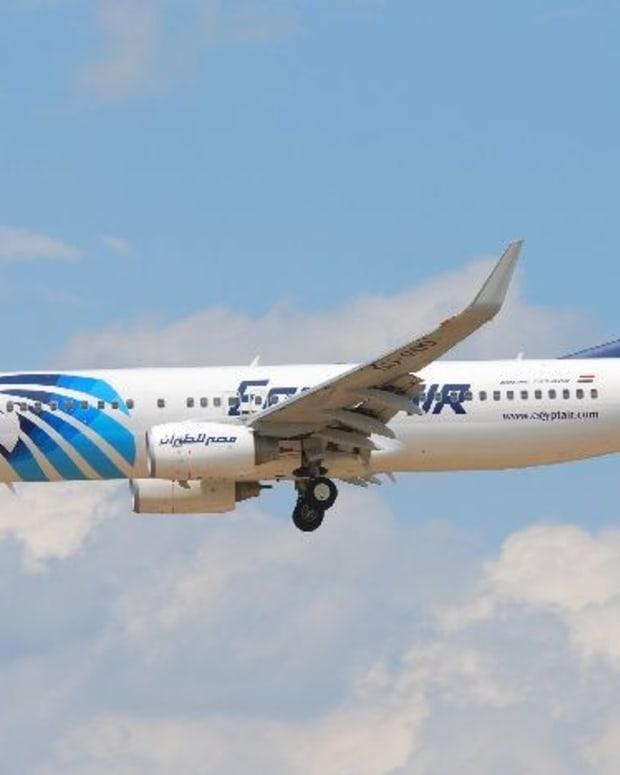Francois Hollande: Missing EgyptAir Flight Crashed Promo Image