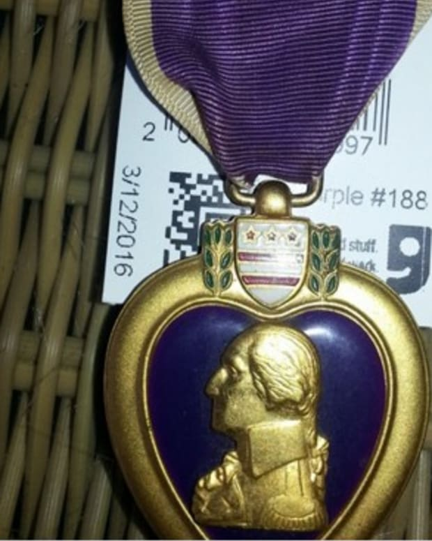 Purple Heart Found At Goodwill Returned To Family Promo Image