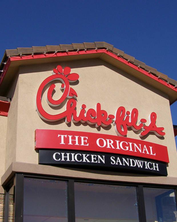 A Chick-fil-A Restaurant