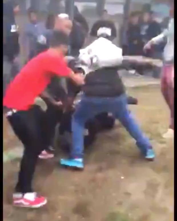California High School Students In Wild Brawl (Video) Promo Image
