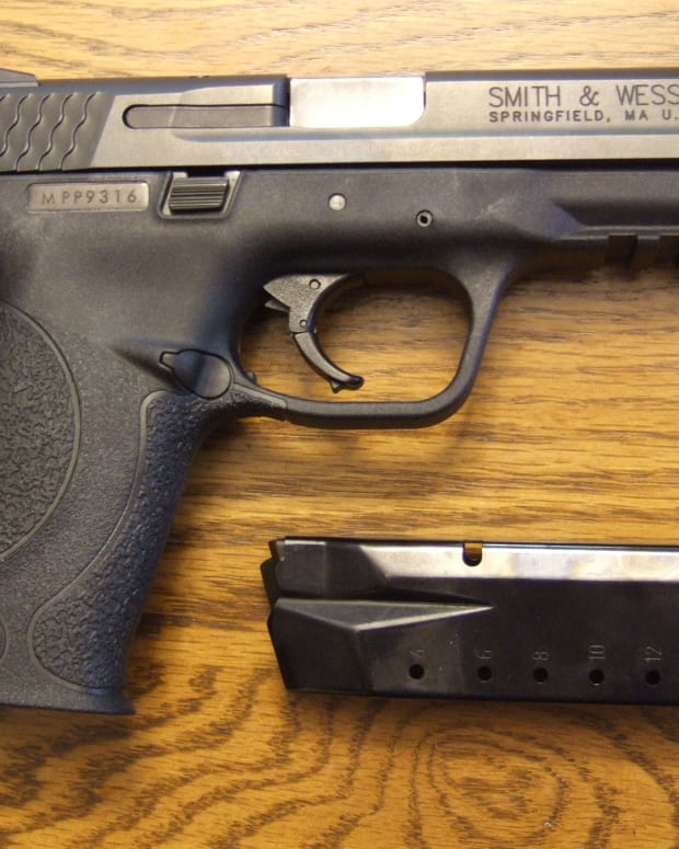 Smith & Wesson M&P Handgun.