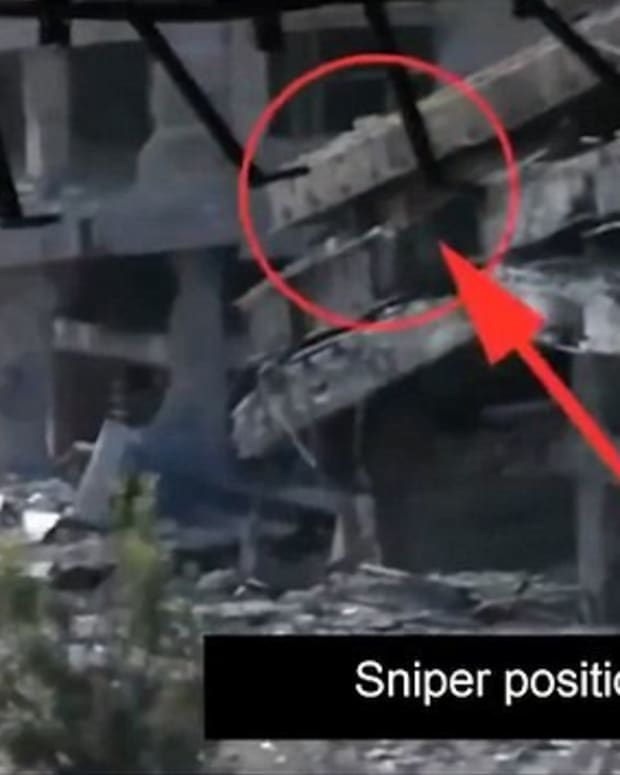 Video Shows Syrian Missile Kill ISIS Sniper (Video) Promo Image