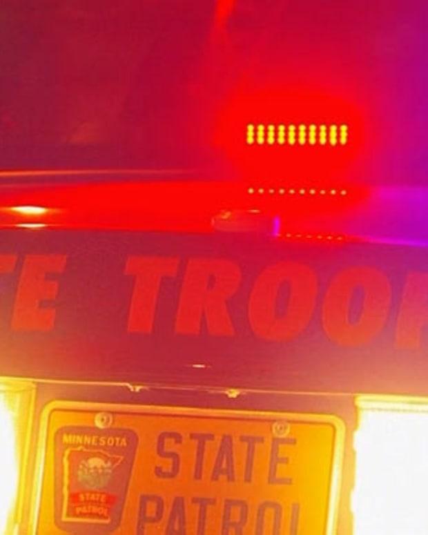 police car's emergency lights