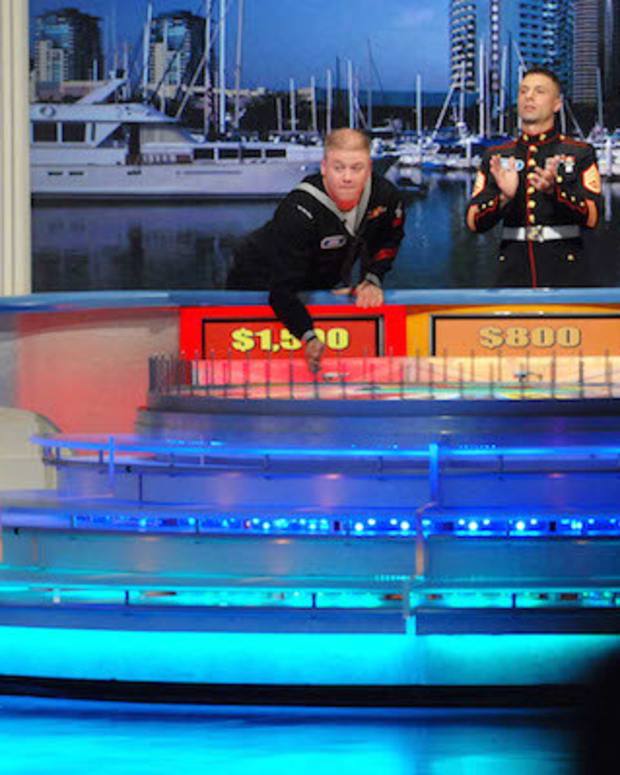 Wheel Of Fortune Puzzle Solved With One Letter (Video) Promo Image