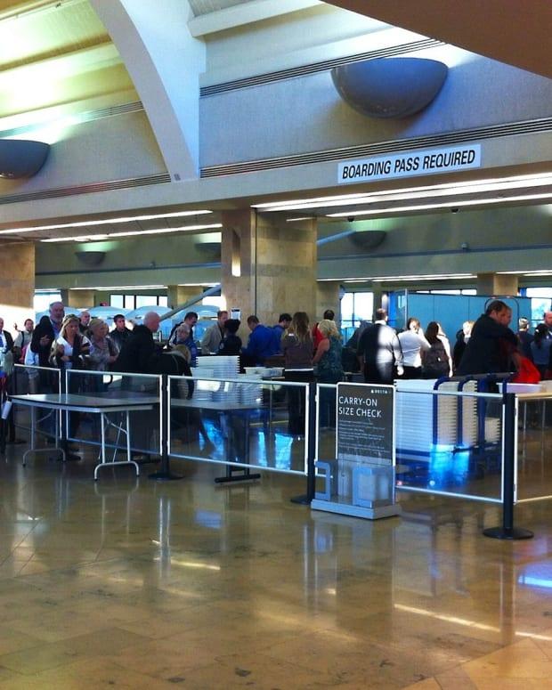 Airport Screening.