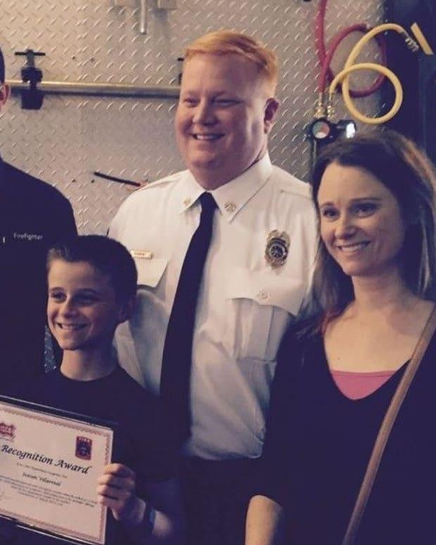 Boy Hears Strange Sounds, Winds Up Saving Mom's Life Promo Image