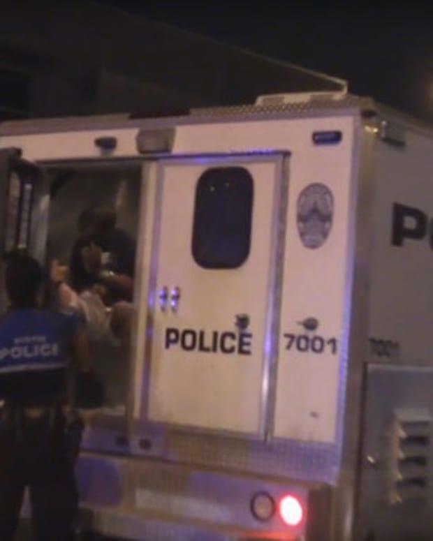 ADP Caught Pepper Spraying Suspect In Custody (Video) Promo Image