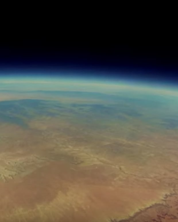 GoPro footage of Earth from space