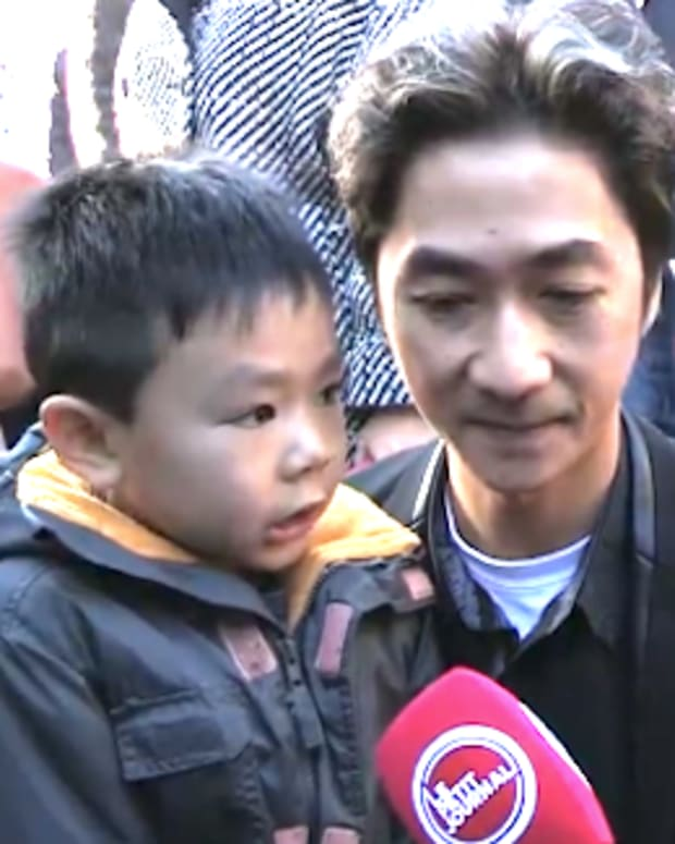 Angel Le with his son Brandon