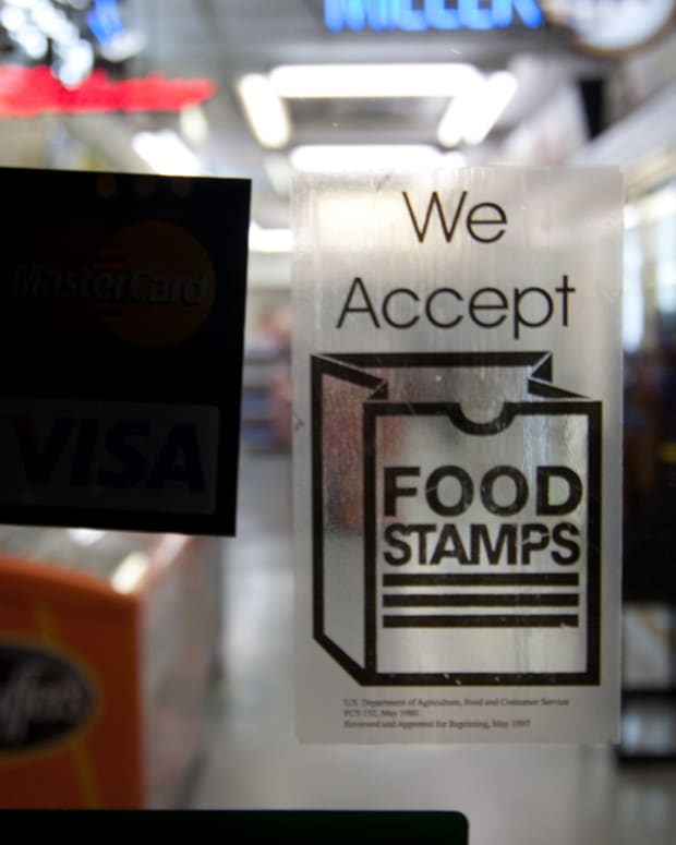Indiana is considering easing access to food stamps for people convicted of drug offenses.