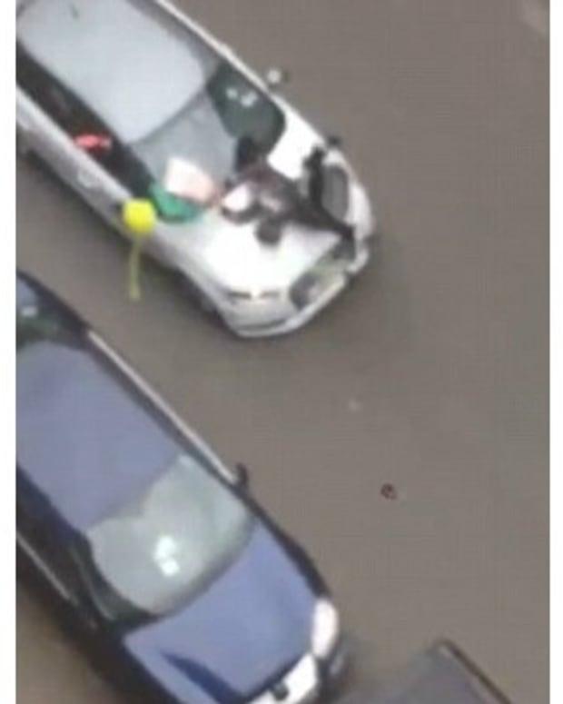 Muslim Woman Run Down In Anti-Muslim Rally In Brussels Promo Image