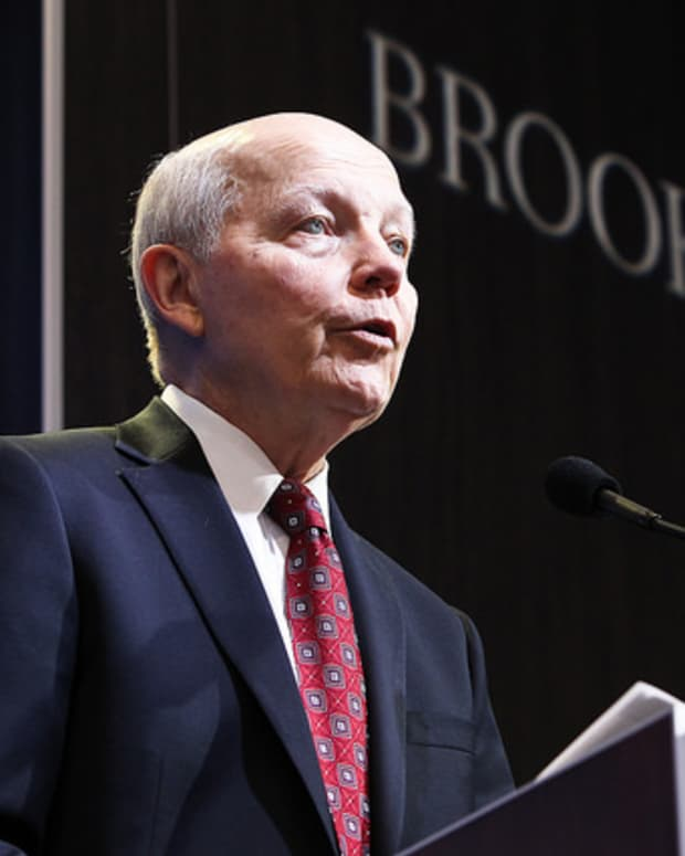IRS commissioner John Koskinen delivers keynote at brookings institution