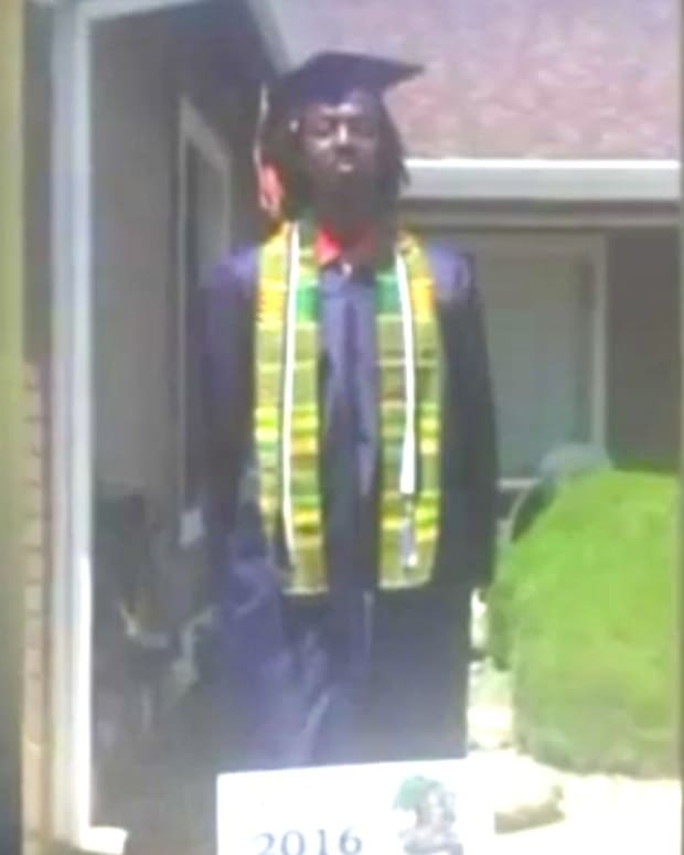 Teen Kicked Out Of Graduation For African Garb (Video) Promo Image