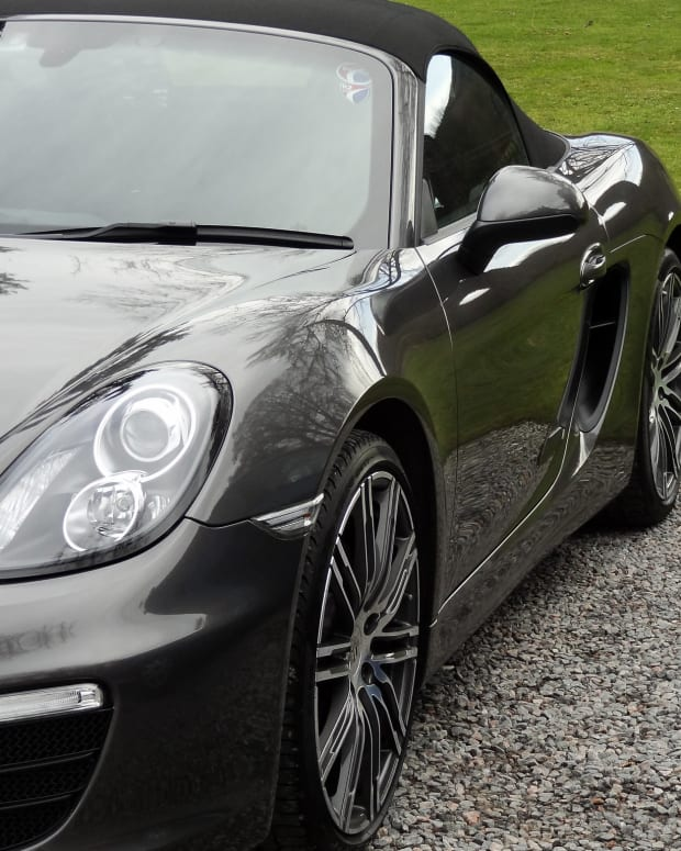 Teen Trades Old Phone Up For A Porsche Promo Image