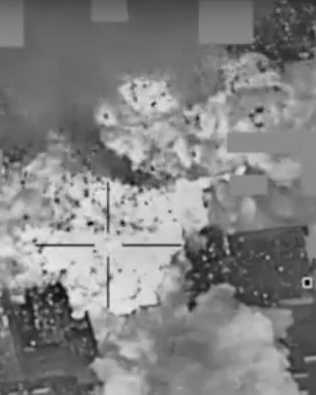 U.S. Airstrike On ISIS In Mosul