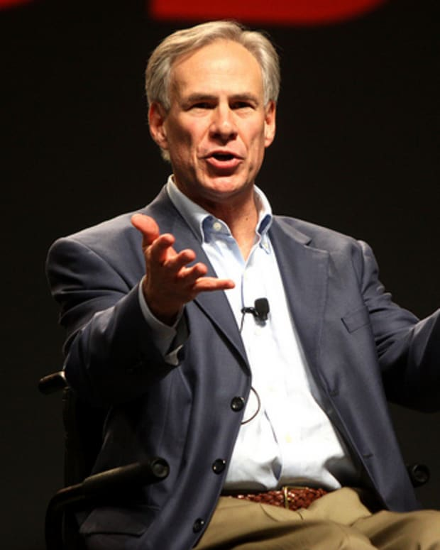Republican Gov. Greg Abbott of Texas