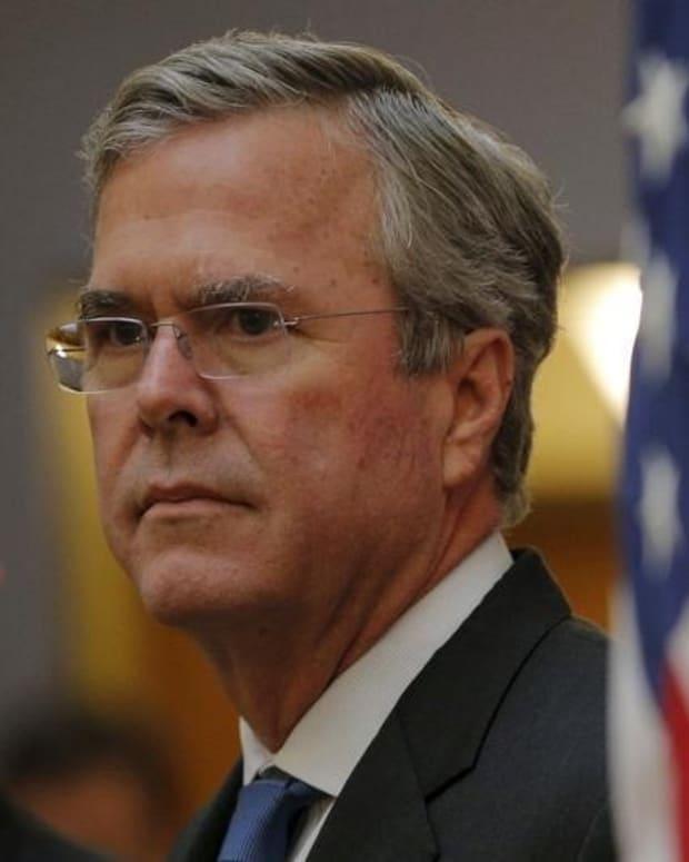 Jeb Bush and Flag