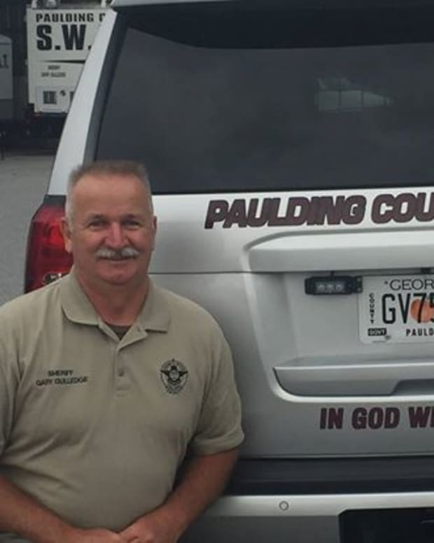 Gary Gulledge, sheriff of Paulding County