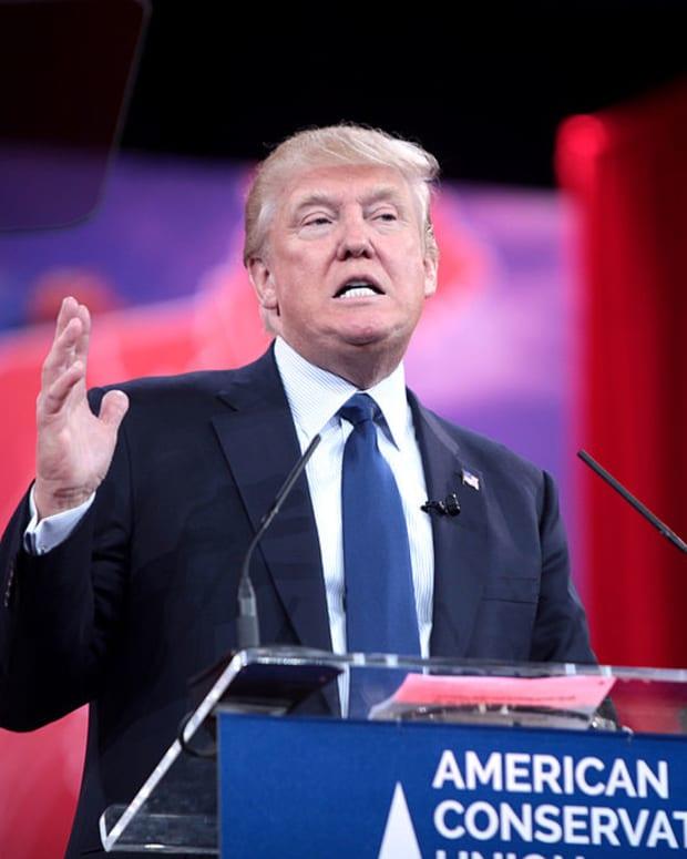 Donald Trump speaks at CPAC 2015.