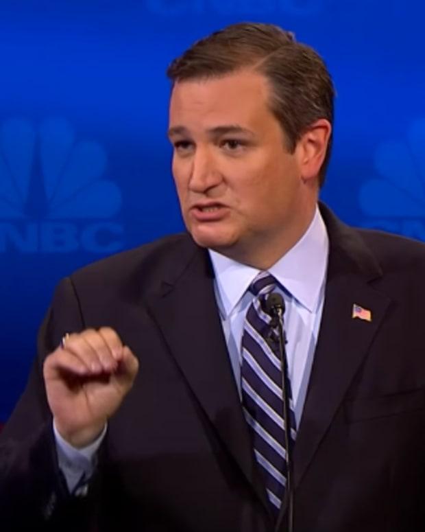 Sen. Ted Cruz.