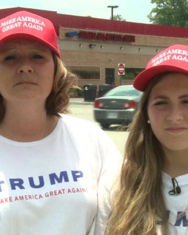 Trump Supporters Almost Denied Service At Restaurant Promo Image