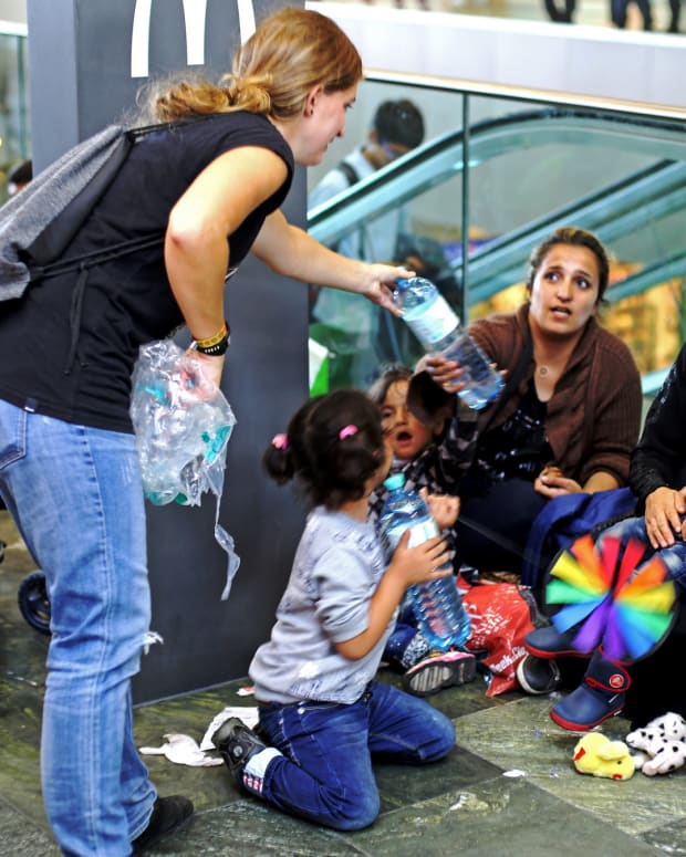 Syrian Refugees In Vienna, Austria