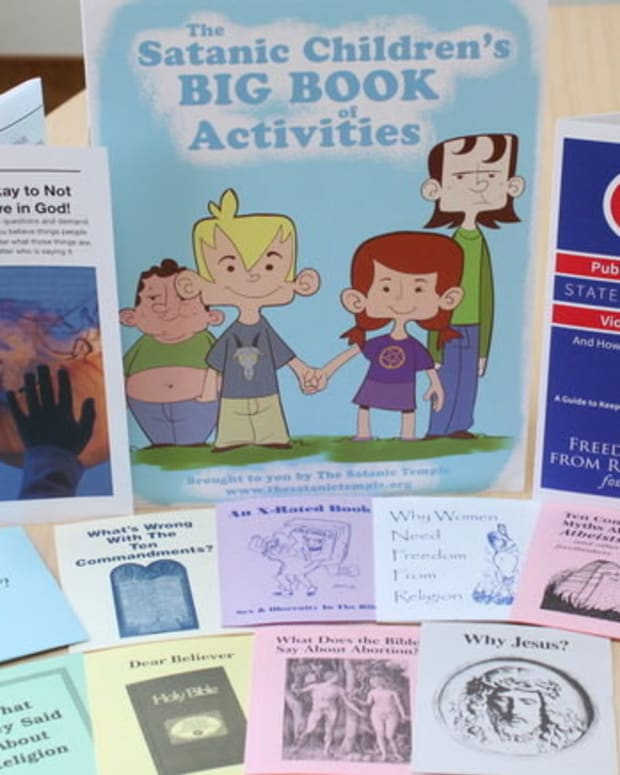 Colorado School Distributes Satanic, Atheist Pamphlets Promo Image
