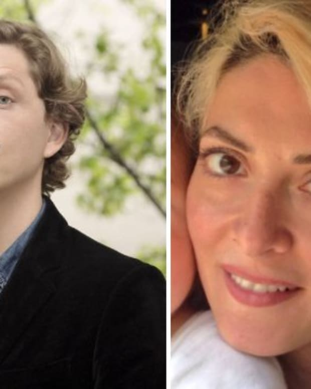 Antoine Leiris (left) and Helen Muyal-Leiris (right)